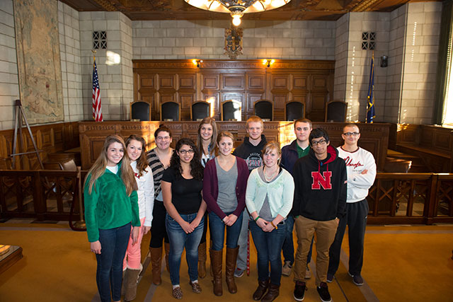 Pre-Law LC Visits Nebraska State Supreme Court