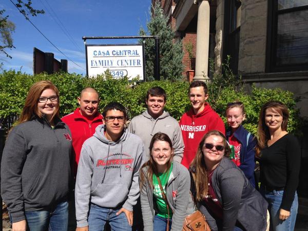 University Exploration LC volunteering in Chicago